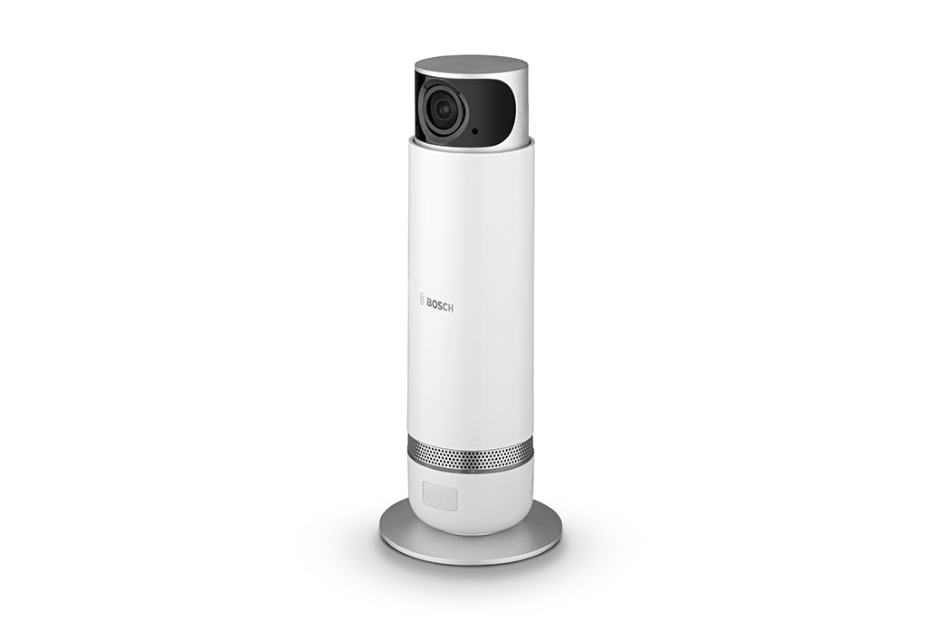 Everything in view with the 360 degree camera from Bosch Smart Home