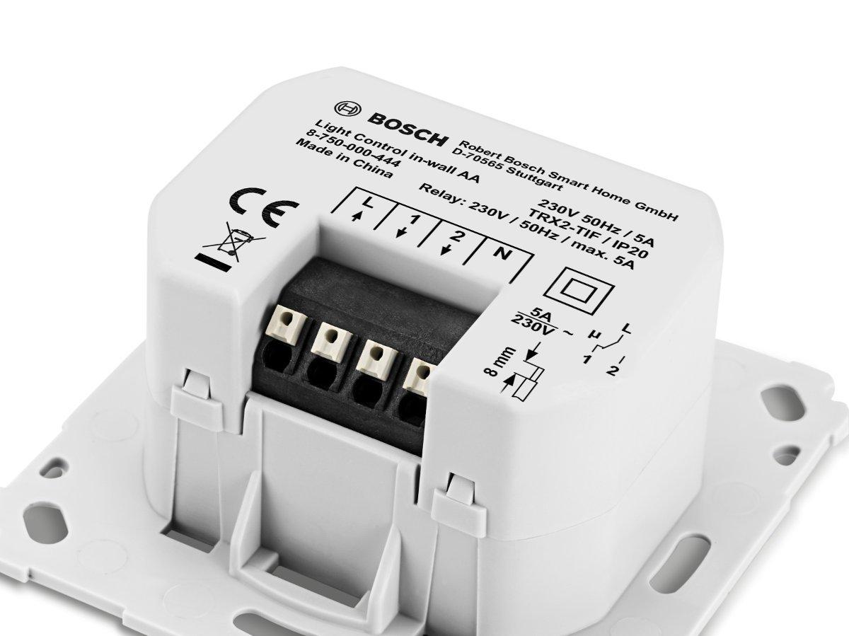 Lichtsteuerung Unterputz