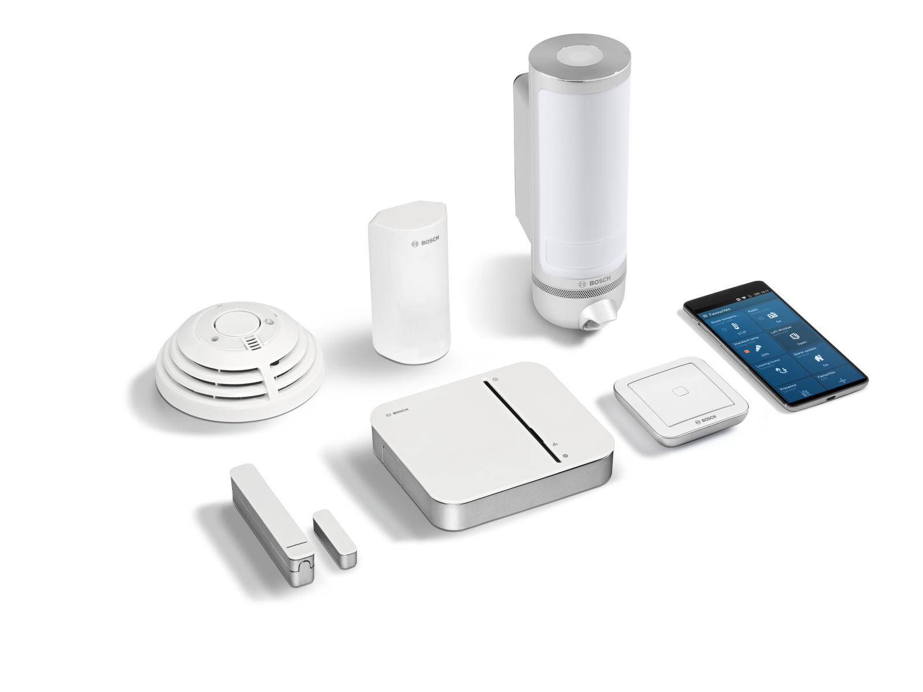 Kit de démarrage Sécurité Premium avec caméra extérieure