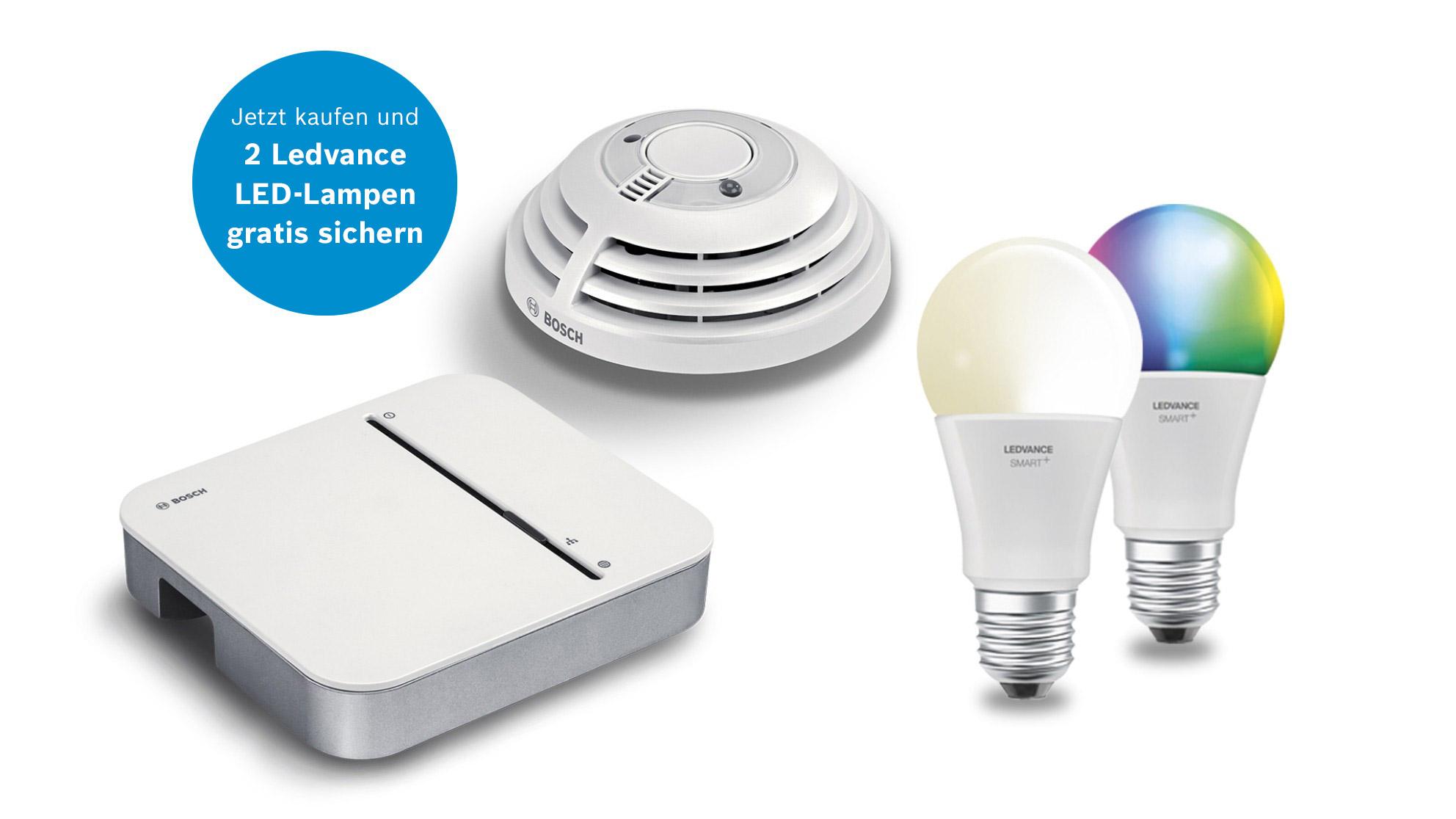 Bosch & Ledvance Starter Kit  Brandschutz